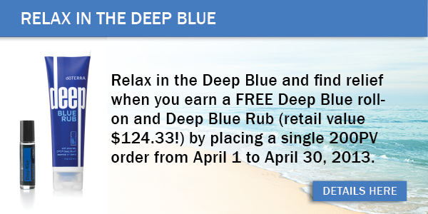 deep blue promotion
